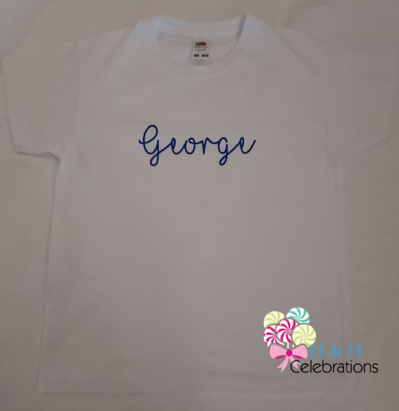 Kids Name Personalised T-Shirt